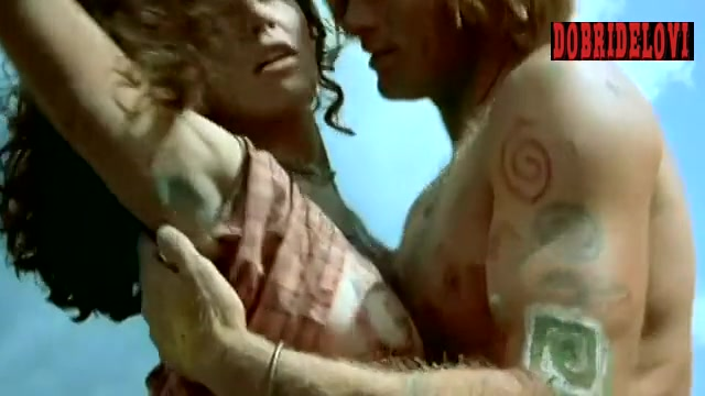 Diane Lane tribal nude scene from A Walk on the Moon