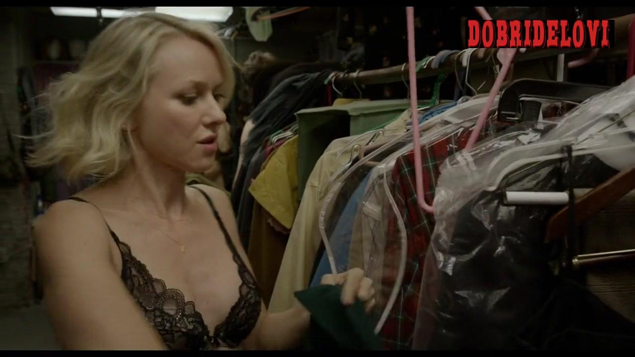 Naomi Watts undressing scene from Birdman