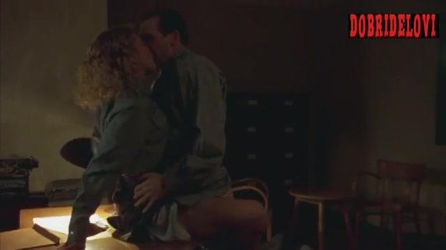 Deborah Kara Unger sex at office desk scene from Sunshine