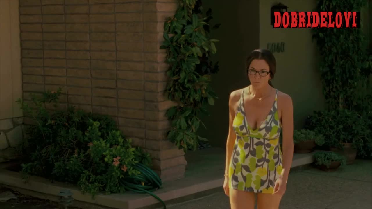 Diane Lane cleavage scene from Cinema Verite