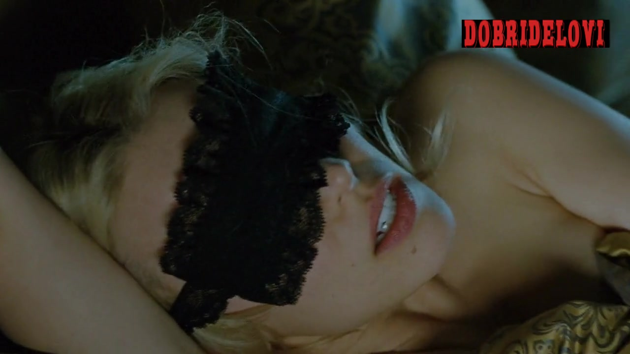 Rachel McAdams blindfolded and moaning scene from Passion