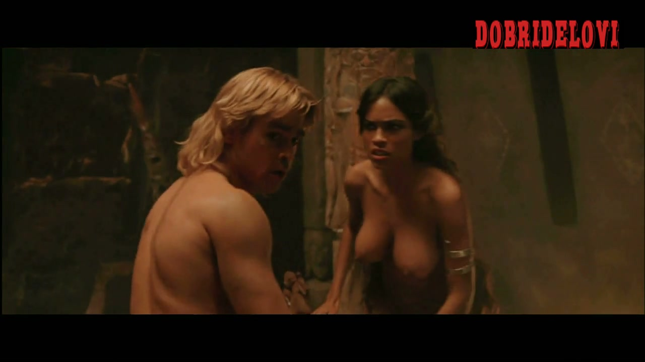 Rosario Dawson feral sex with Colin Farrell scene from Alexander