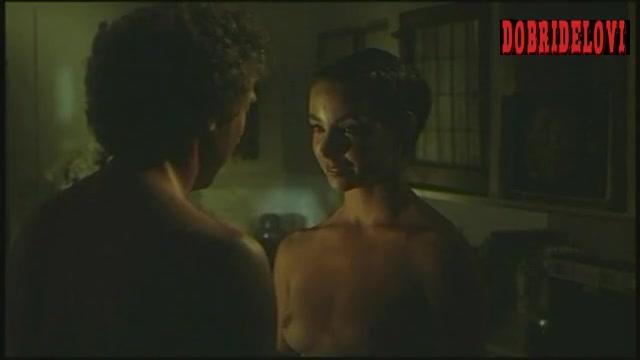 Kathleen Quinlan topless scene from Sunday Lovers