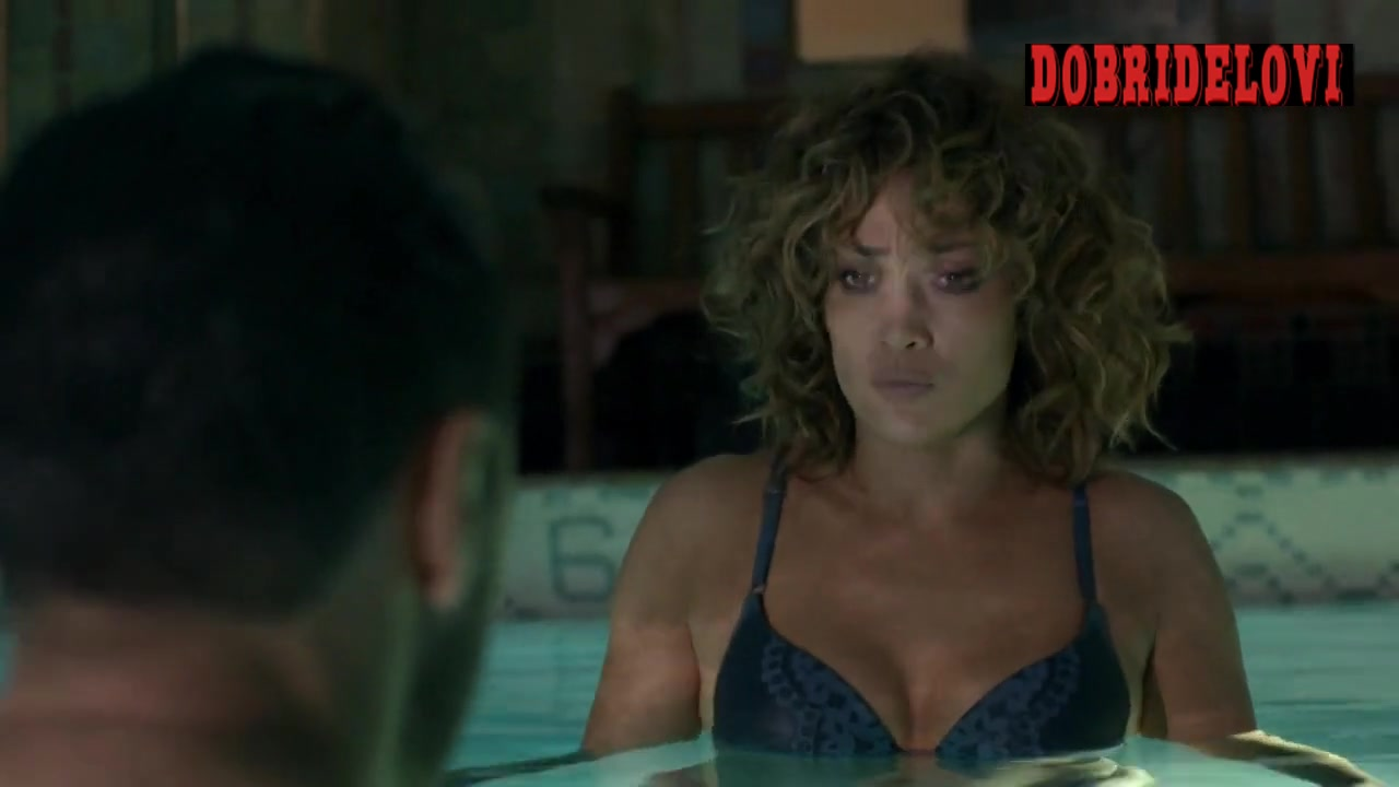 Jennifer Lopez skinny dipping scene from Shades of Blue