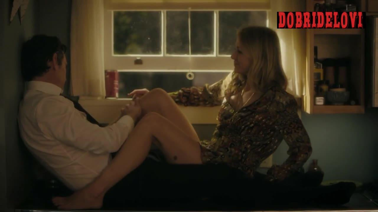 Naomi Watts sitting on counter scene from Gypsy