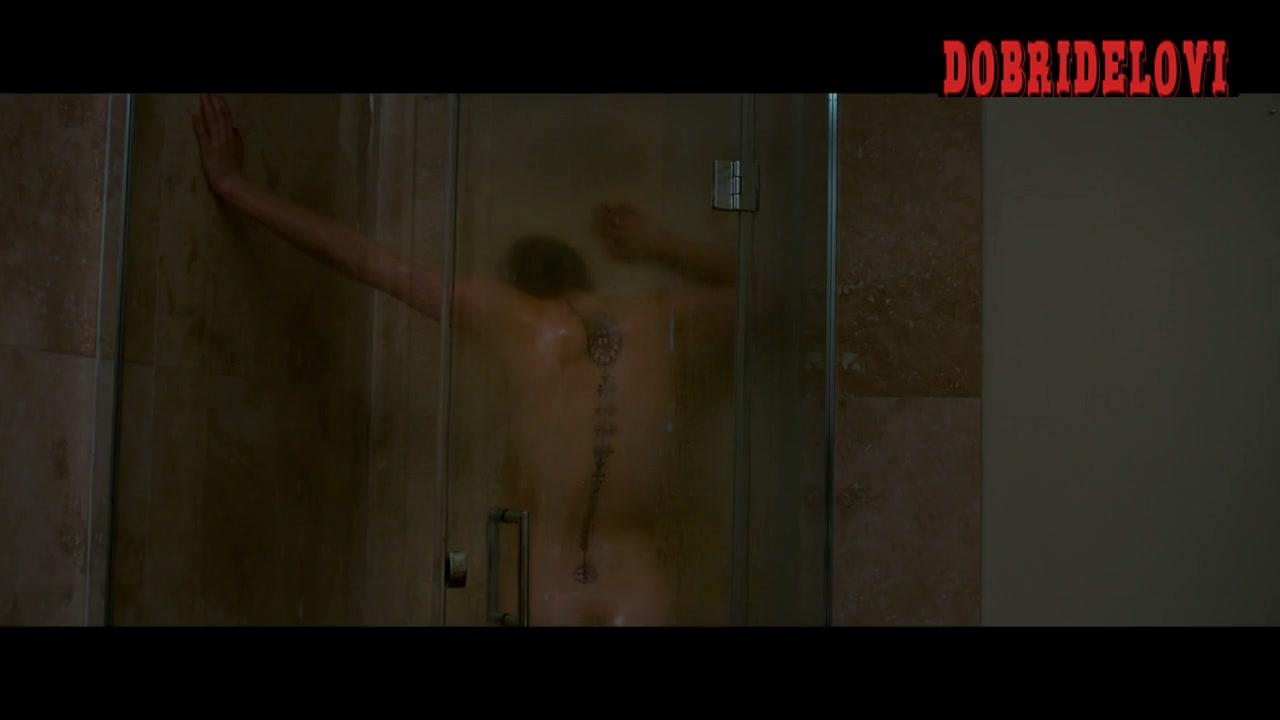 Natalie Dormer shower scene from In Darkness