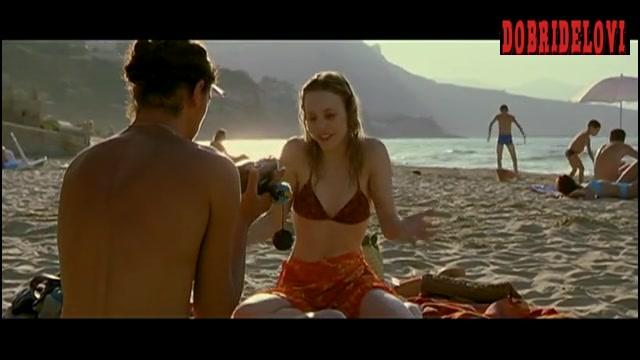 Rachel McAdams POV scene on beach scene from My Name is Tanino