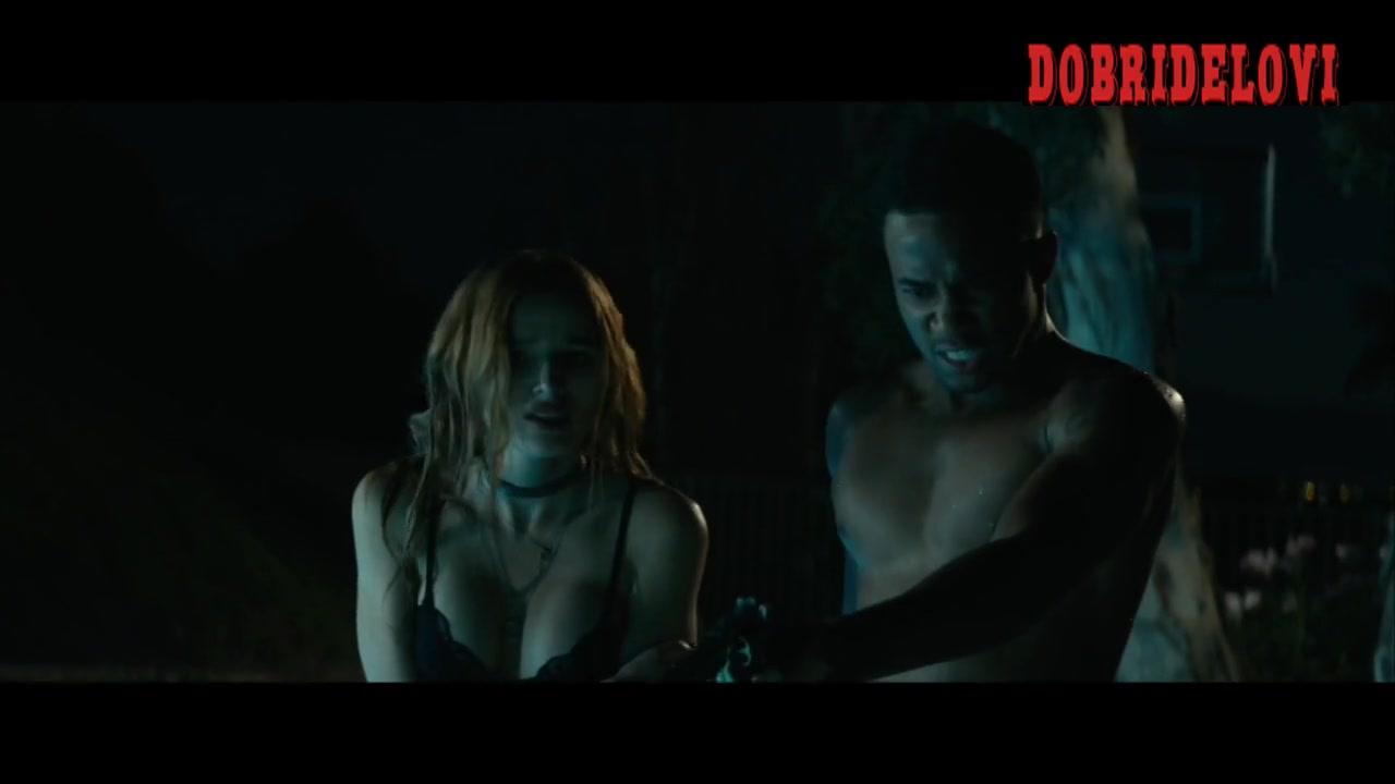 Bella Thorne fighting scene from Ride