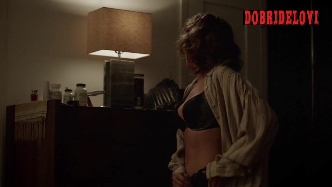 Jennifer Lopez getting dressed scene from Shades of Blue