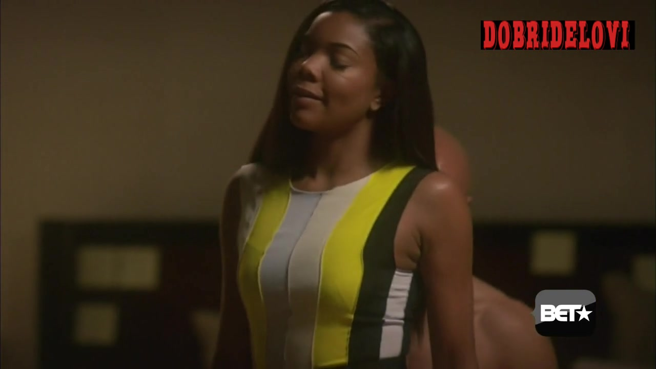 Gabrielle Union being undressed scene from Being Mary Jane