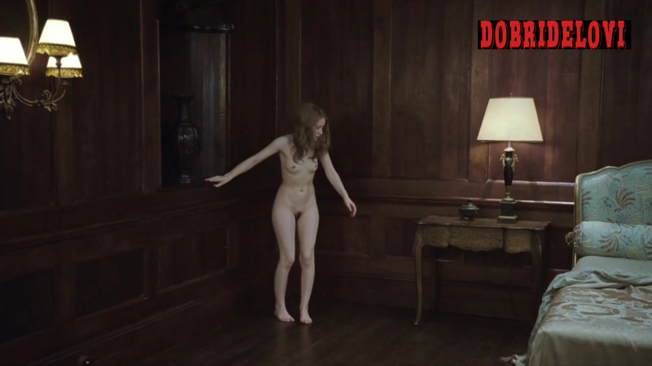 Watch Emily Browning getting out of bed scene from Sleeping Beauty video