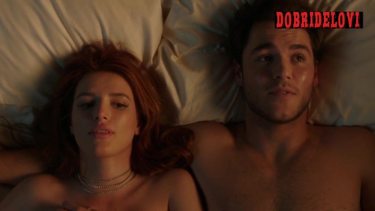 Bella Thorne post coital scene from Famous in Love