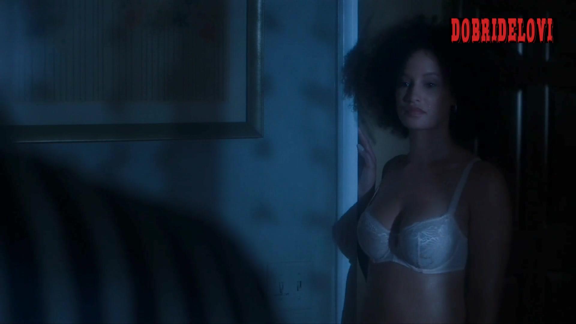 Elarica Johnson sexy underwear scene from P-Valley