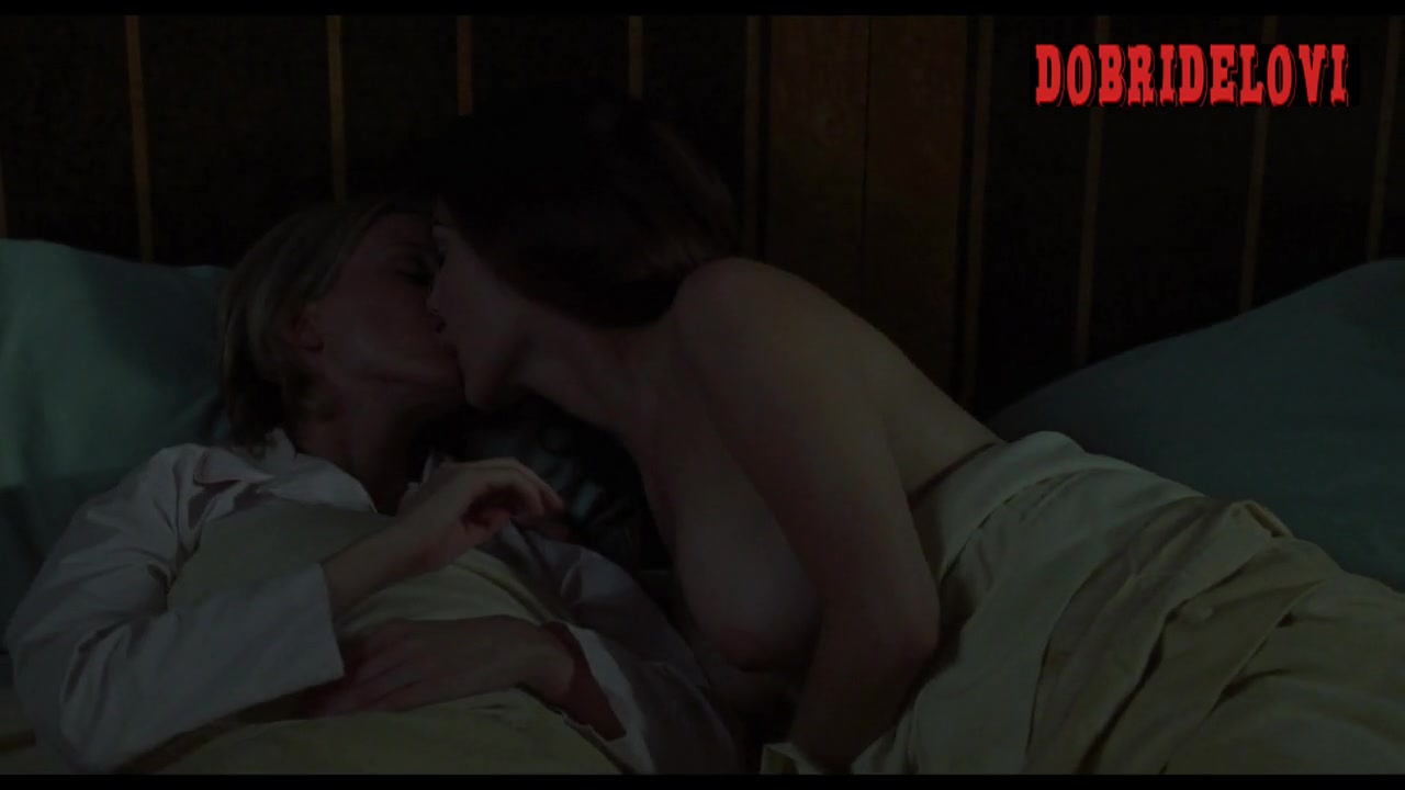 Naomi Watts and Laura Harring in bed scene from Mulholland Dr.