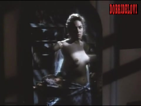Sharon Stone undressing scene from Scissors