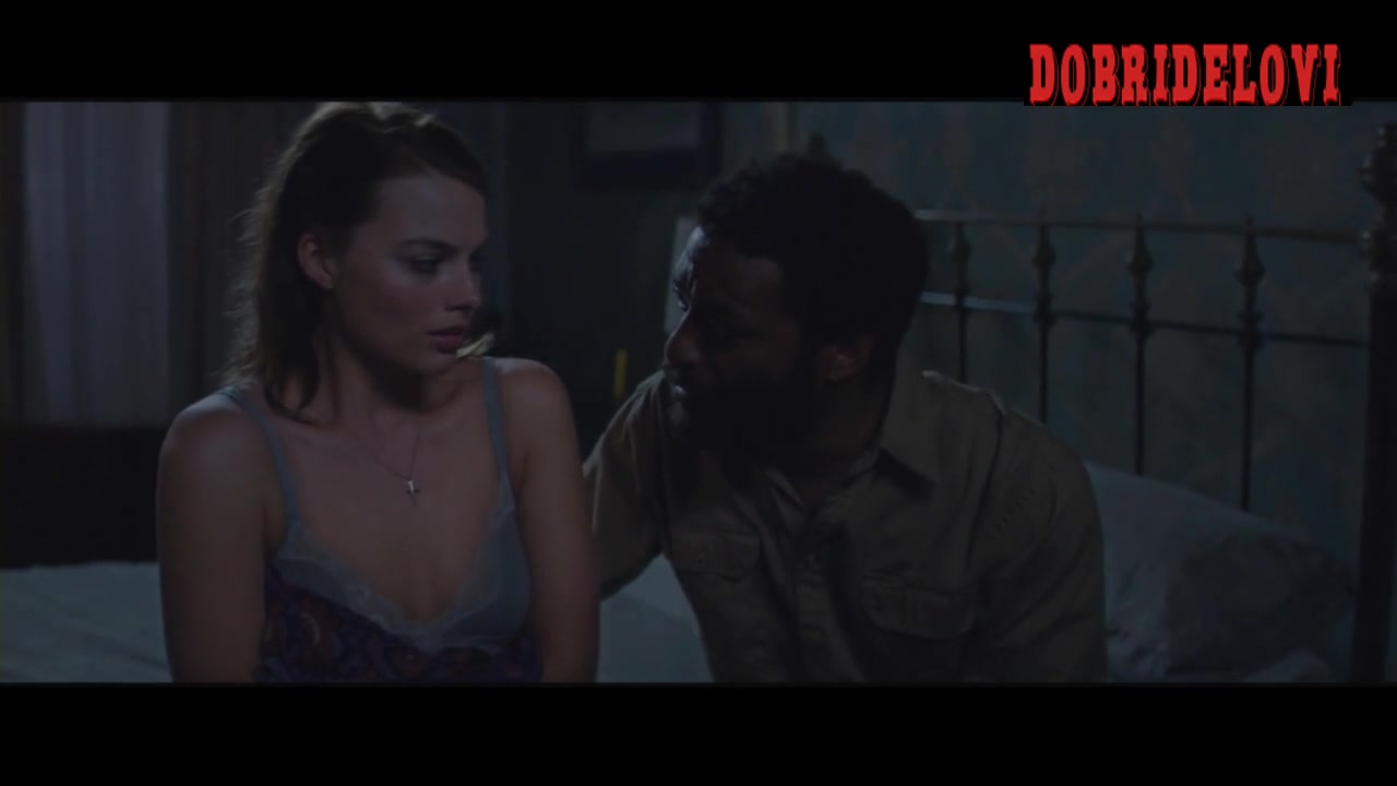 Margot Robbie undressing scene from Z for Zachariah