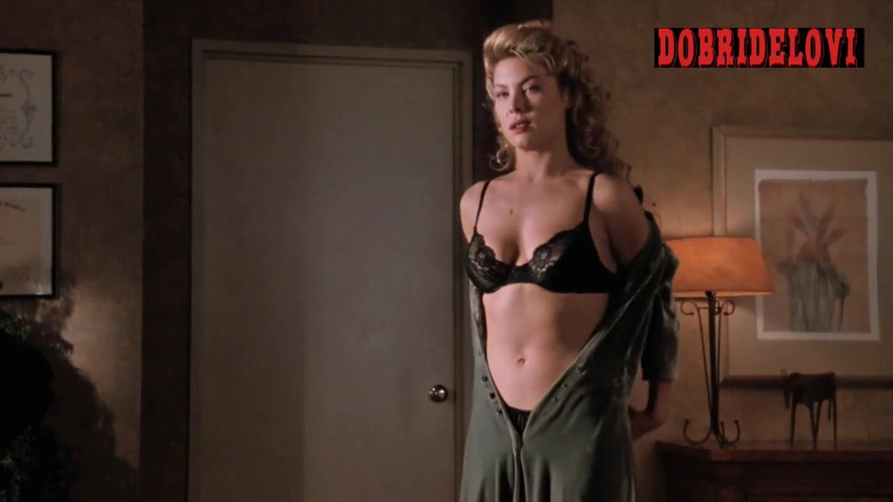 Deborah Kara Unger undressing scene from Whispers in the Dark