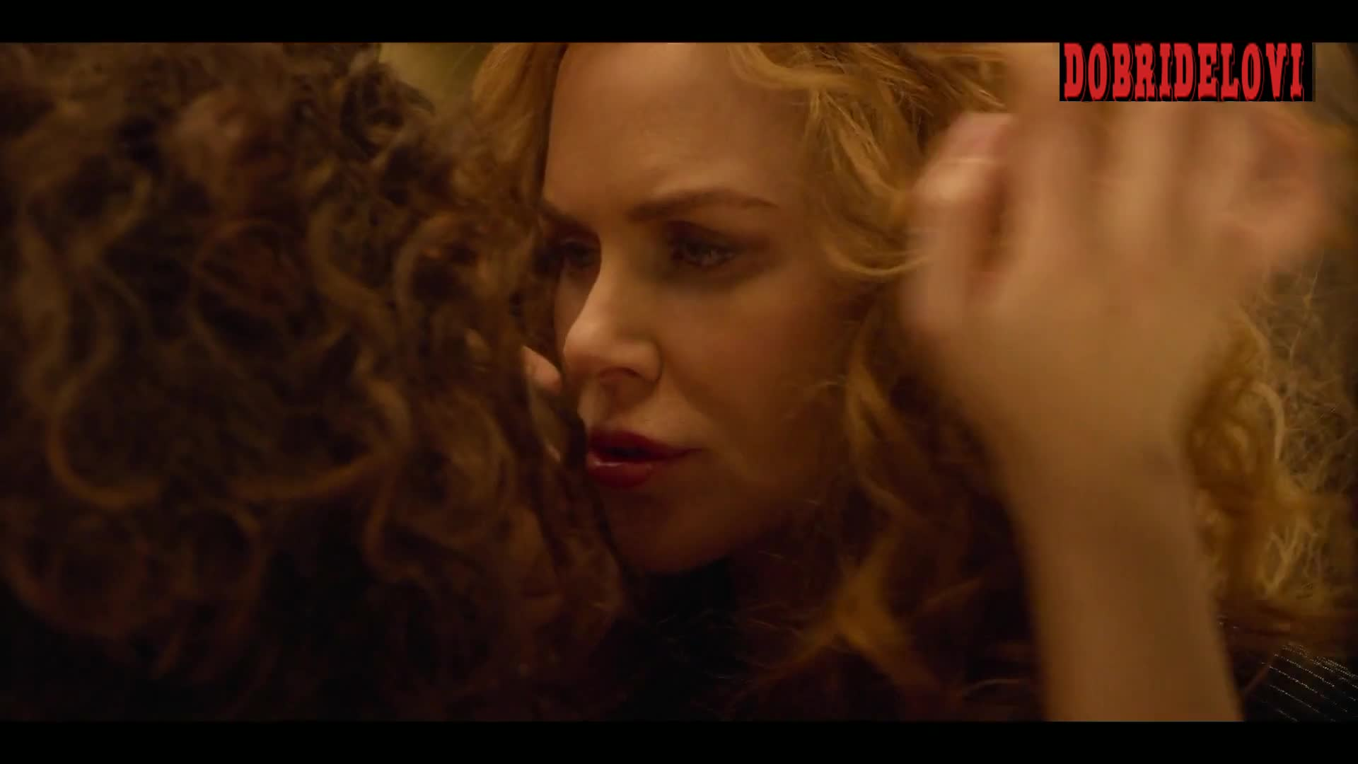Nicole Kidman and Matilda De Angelis lesbian scene from The Undoing