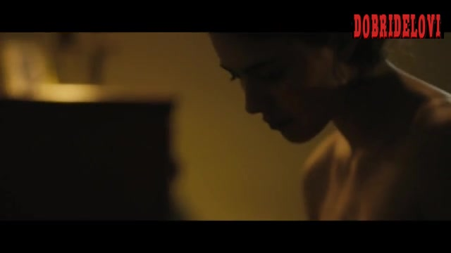 Watch Margaret Qualley undressing scene from Novitiate video