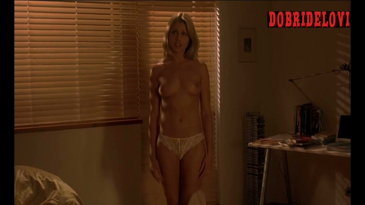 Jessica Boehrs undressing scene from EuroTrip