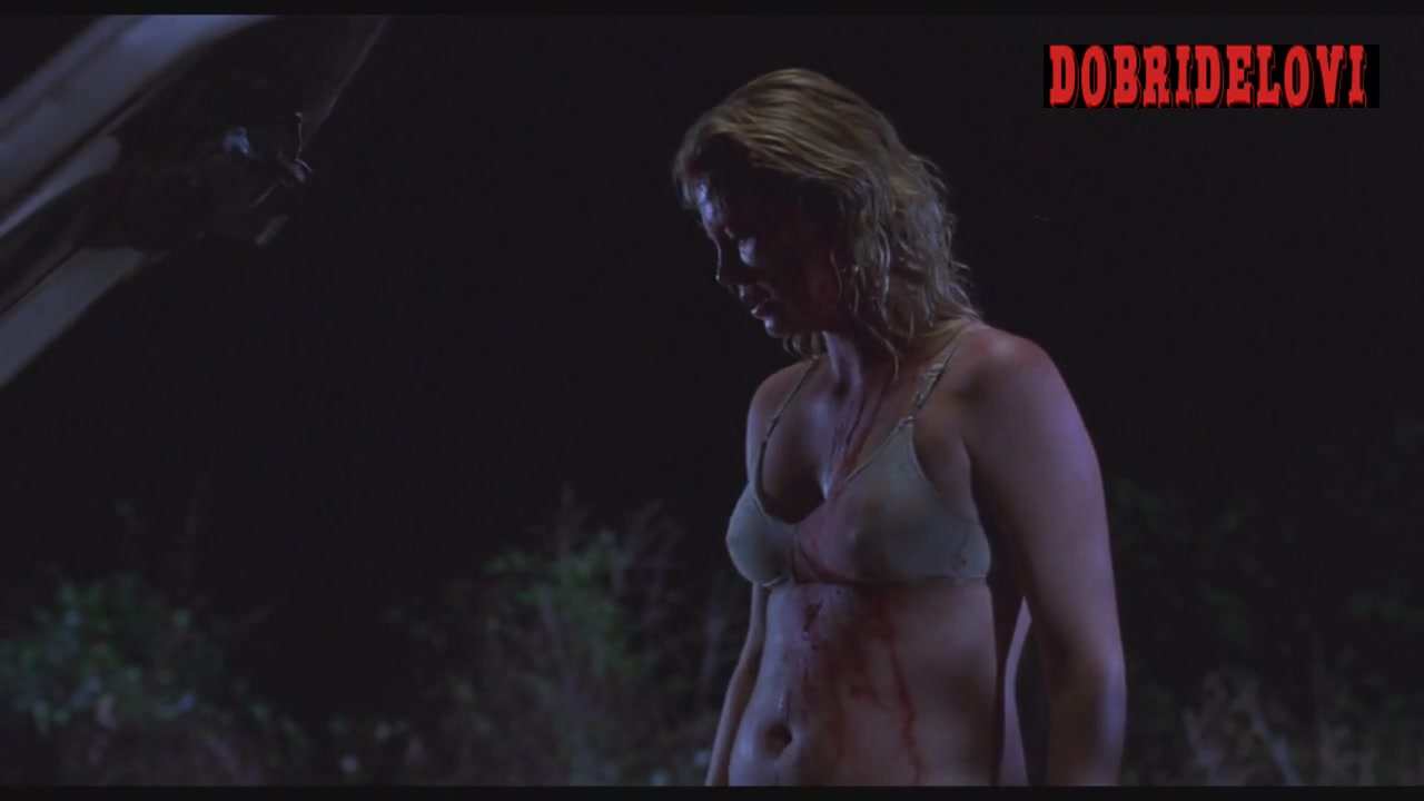 Charlize Theron bloody body scene from Monster