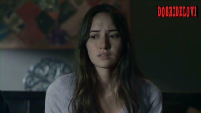 Sara Malakul Lane nip slip in dream scene from 12/12/12