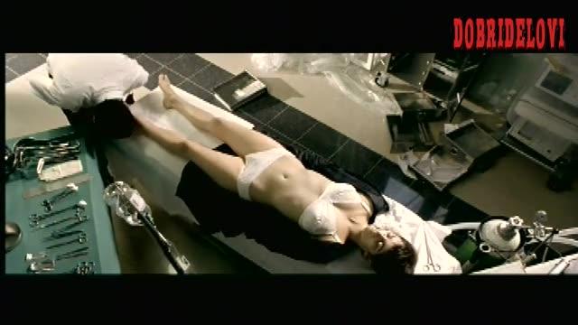 Penélope Cruz lingerie in morgue scene from Don't Move
