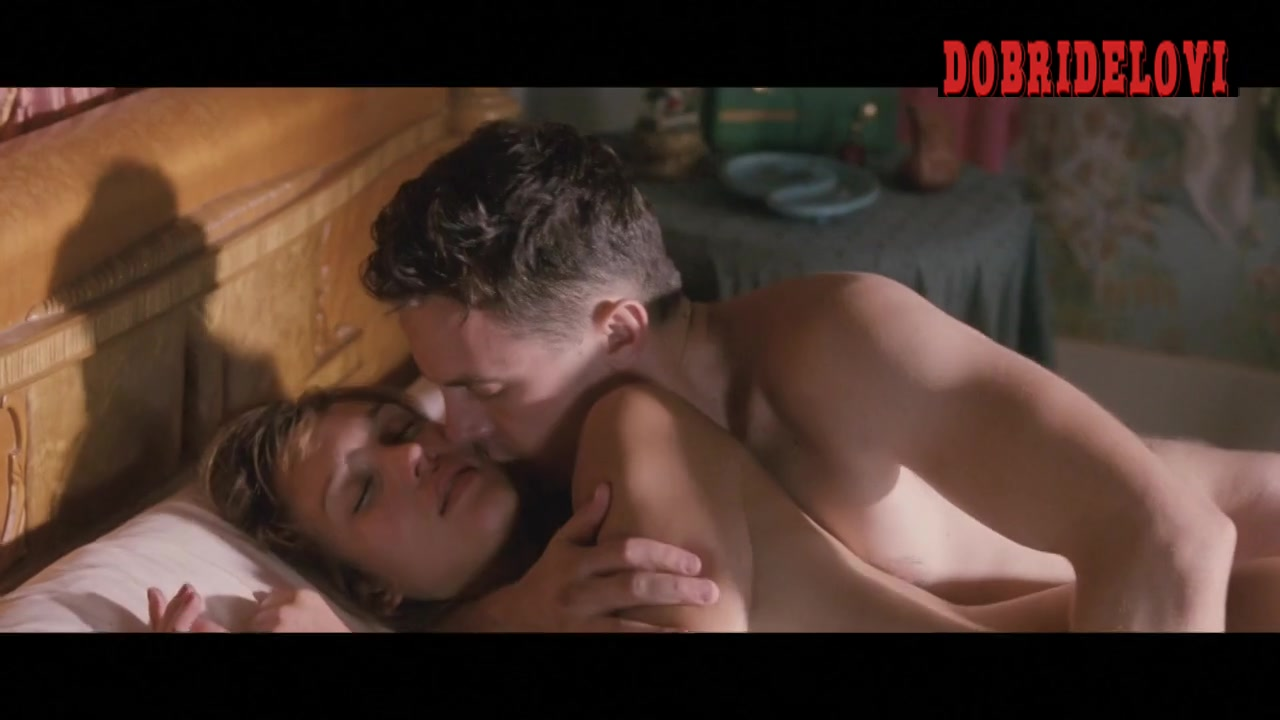 Jessica Alba sex from behind by Casey Afflect scene from The Killer Inside Me