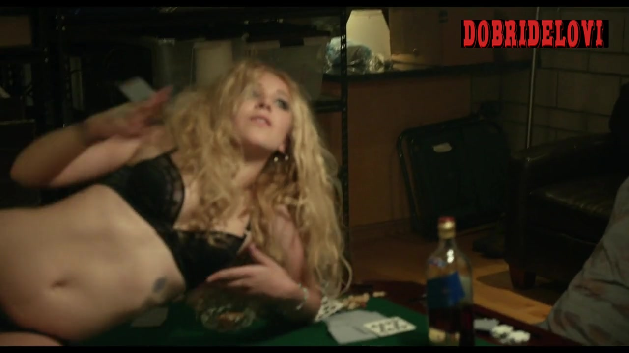 Juno Temple dancing for men scene from Afternoon Delight