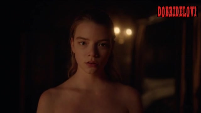Anya Taylor-Joy undressing scene from The Miniaturist