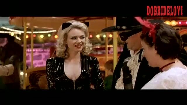 Naomi Watts wearing sexy cat costume in the carnival scene from Undertaking Betty