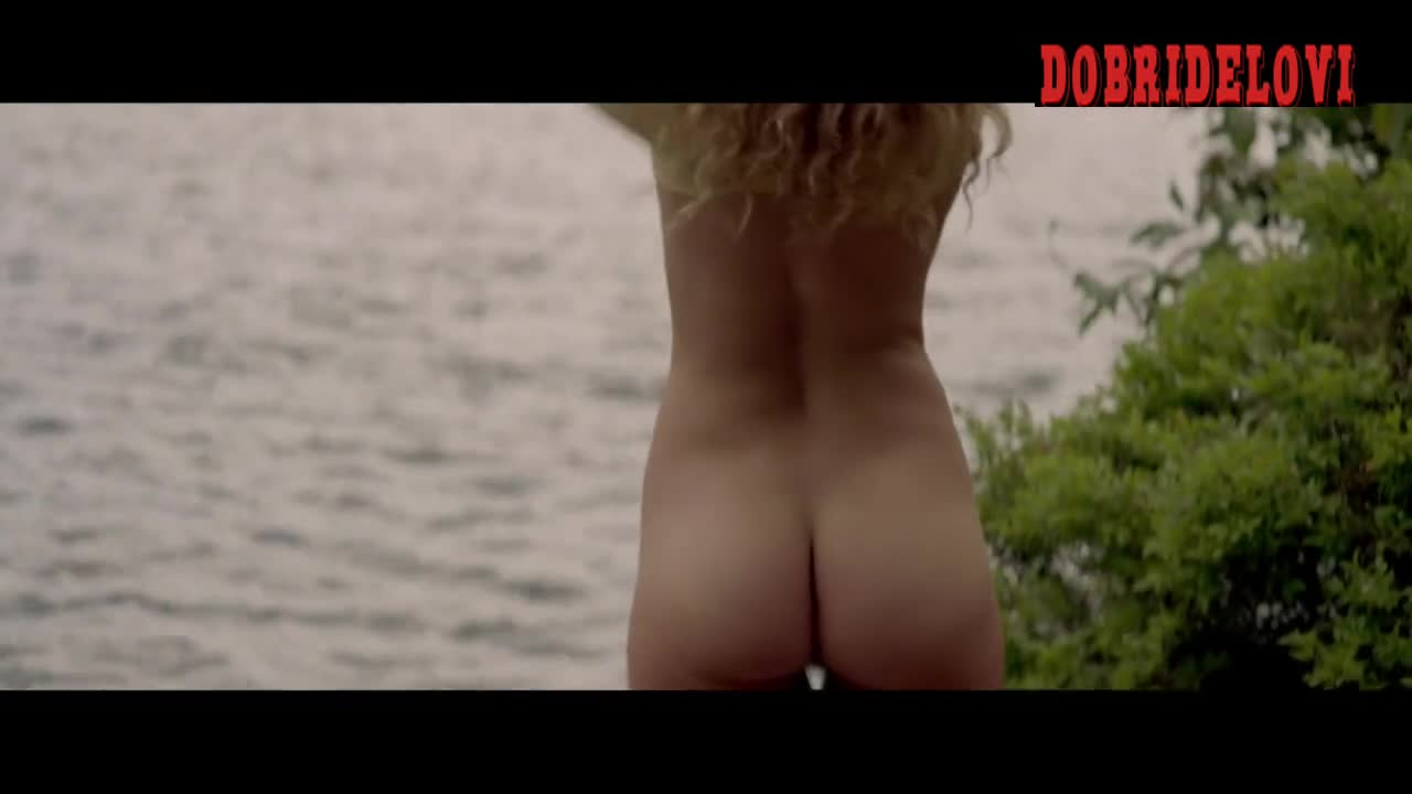Julia Garner and Juno Temple undress for a skinny dipping scene from One Percent More Humid