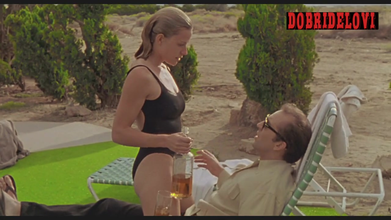 Elisabeth Shue chilling poolside with Nicolas Cage scene from Leaving Las Vegas