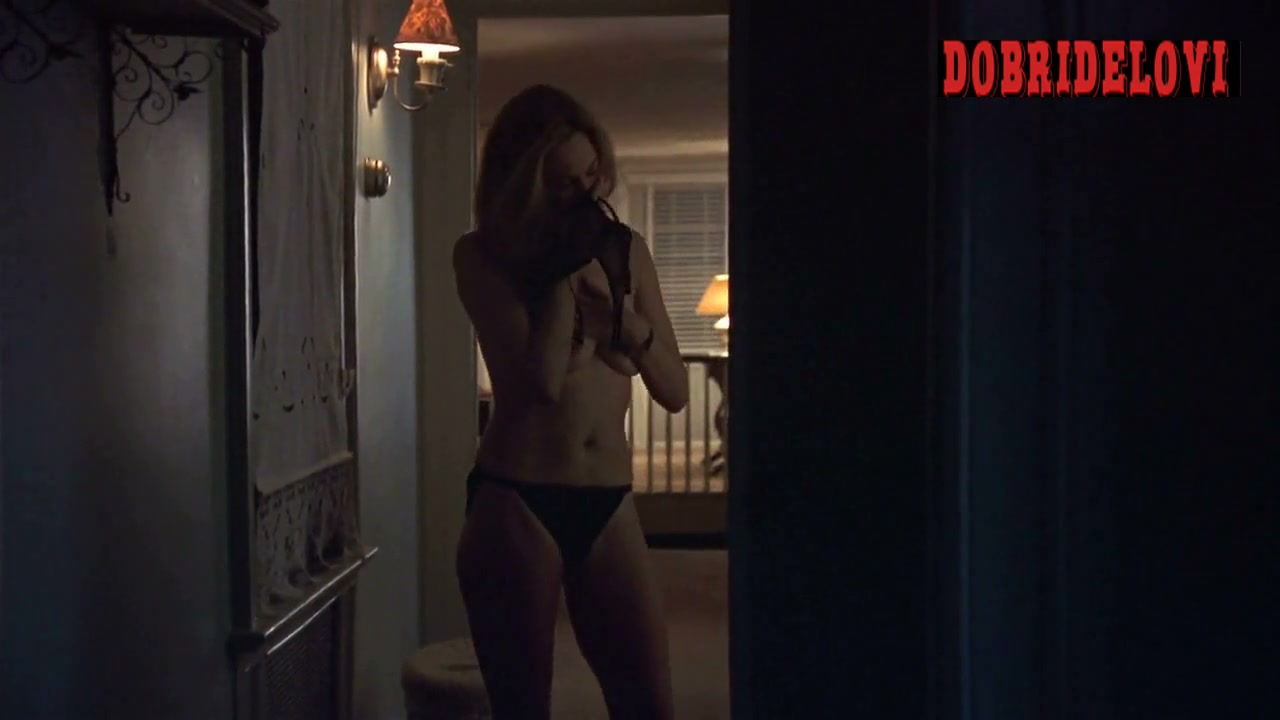 Diane Lane stripping and throwing cheating  clothes away scene from Unfaithful