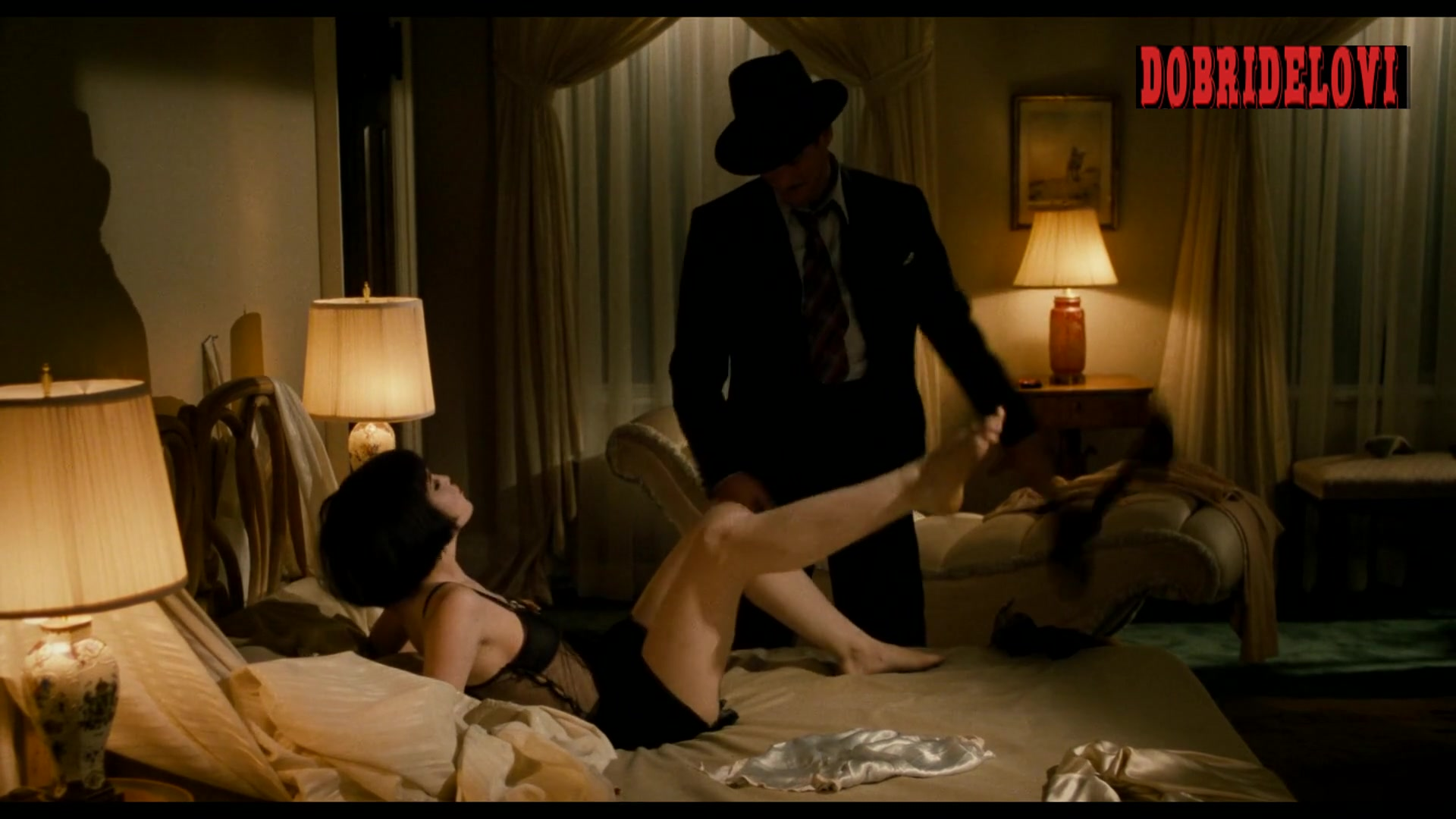 Diane Lane bening undressed scene from The Cotton Club