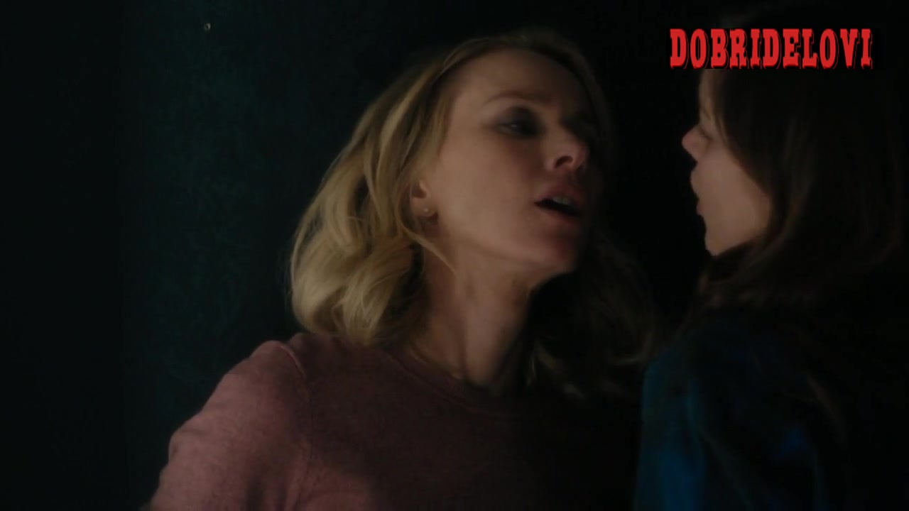 Sophie Cookson and Naomi Watts fingering scene from Gypsy