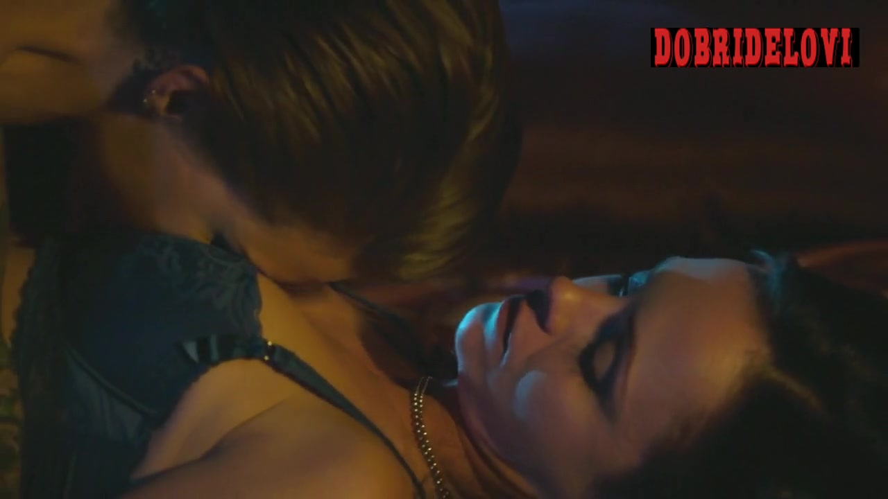 Ruby Rose and Christina Ricci lesbian scene from Around the Block