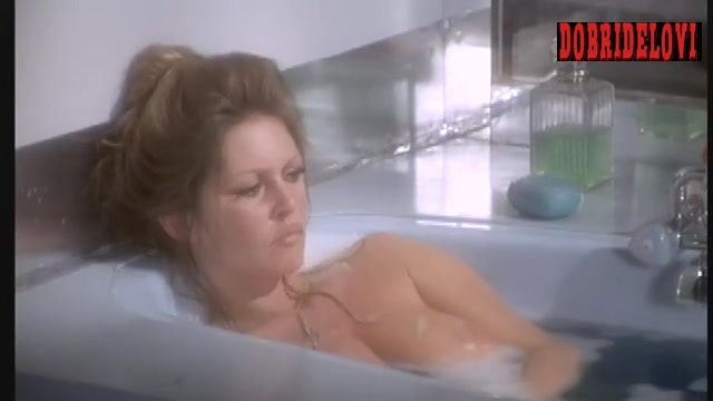 Brigitte Bardot bathtub scene from Don Juan