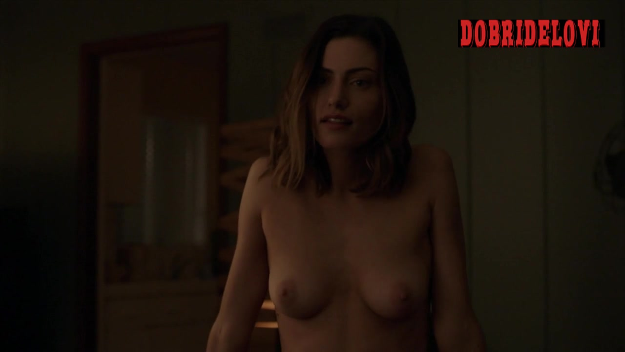 Watch Phoebe Tonkin undressing scene from The Affair video
