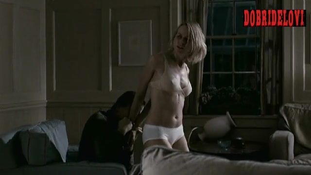 Naomi Watts tied up in lingerie scene from Funny Games