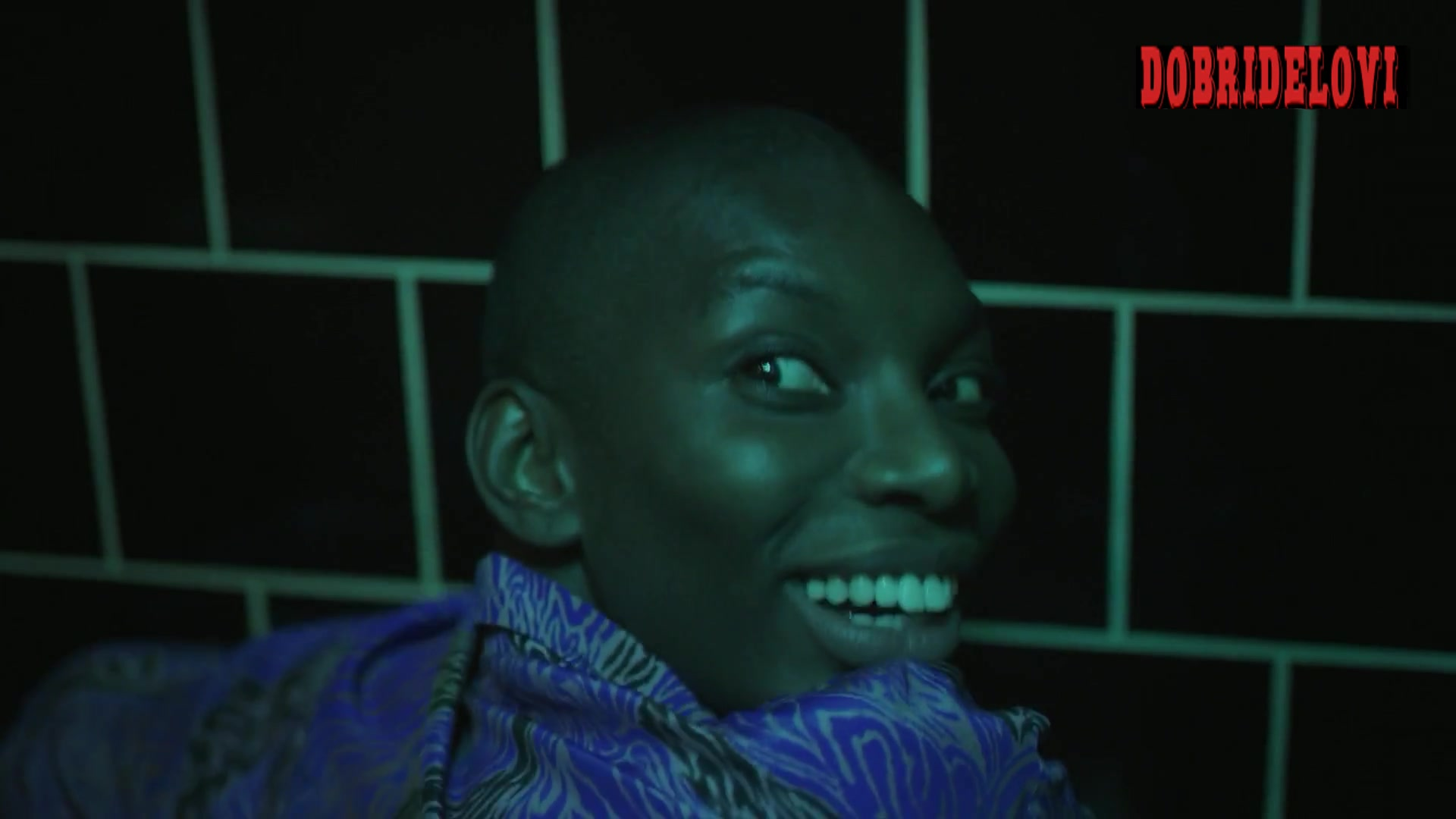 Michaela Coel passed out gets bent in bathroom stall scene from I May Destroy You