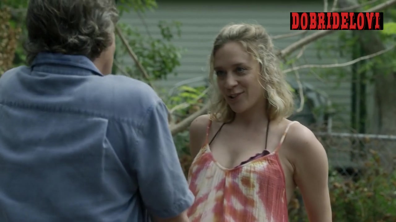 Chloë Sevigny riding bike scene from Bloodline