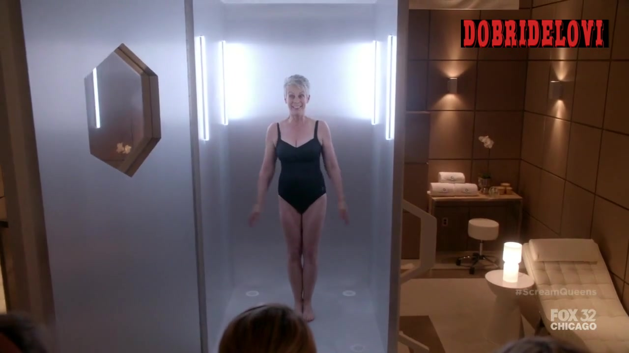 Watch Jamie Lee Curtis sexy scene from Scream Queens video