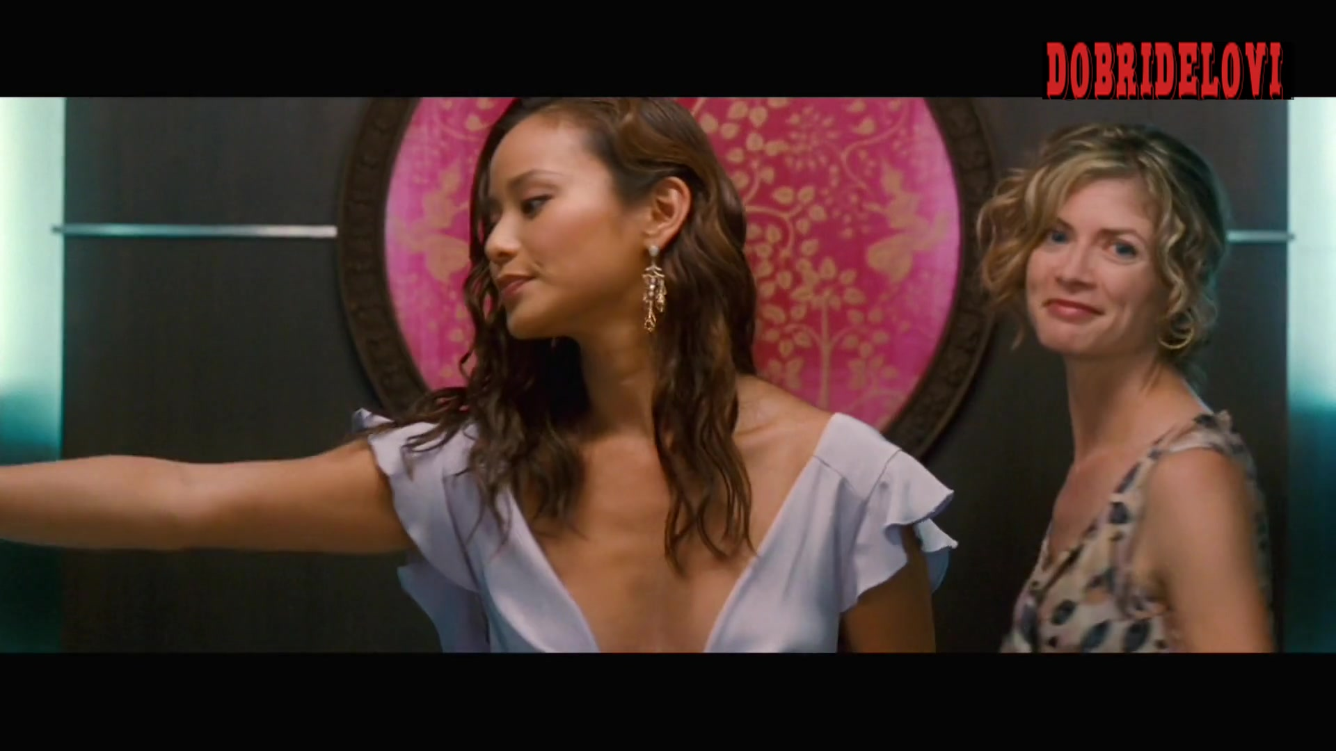 Watch Jamie Chung cleavage scene from The Hangover Part II video