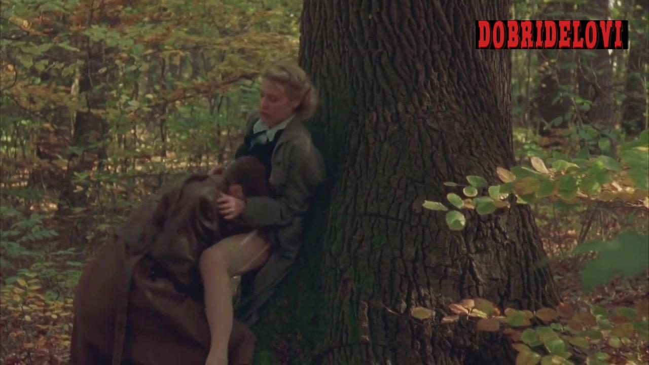 Deborah Kara Unger oral sex in the woods scene from Sunshine
