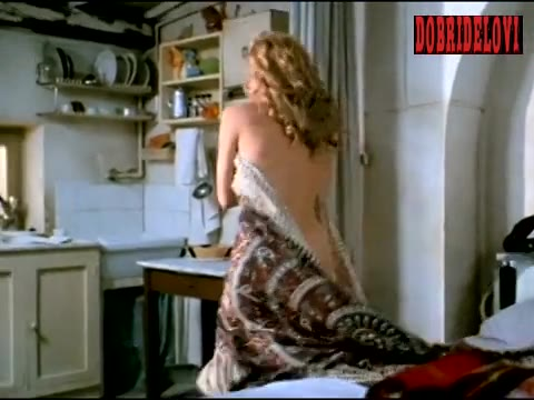 Sharon Stone getting out of bed scene from Year of the Gun
