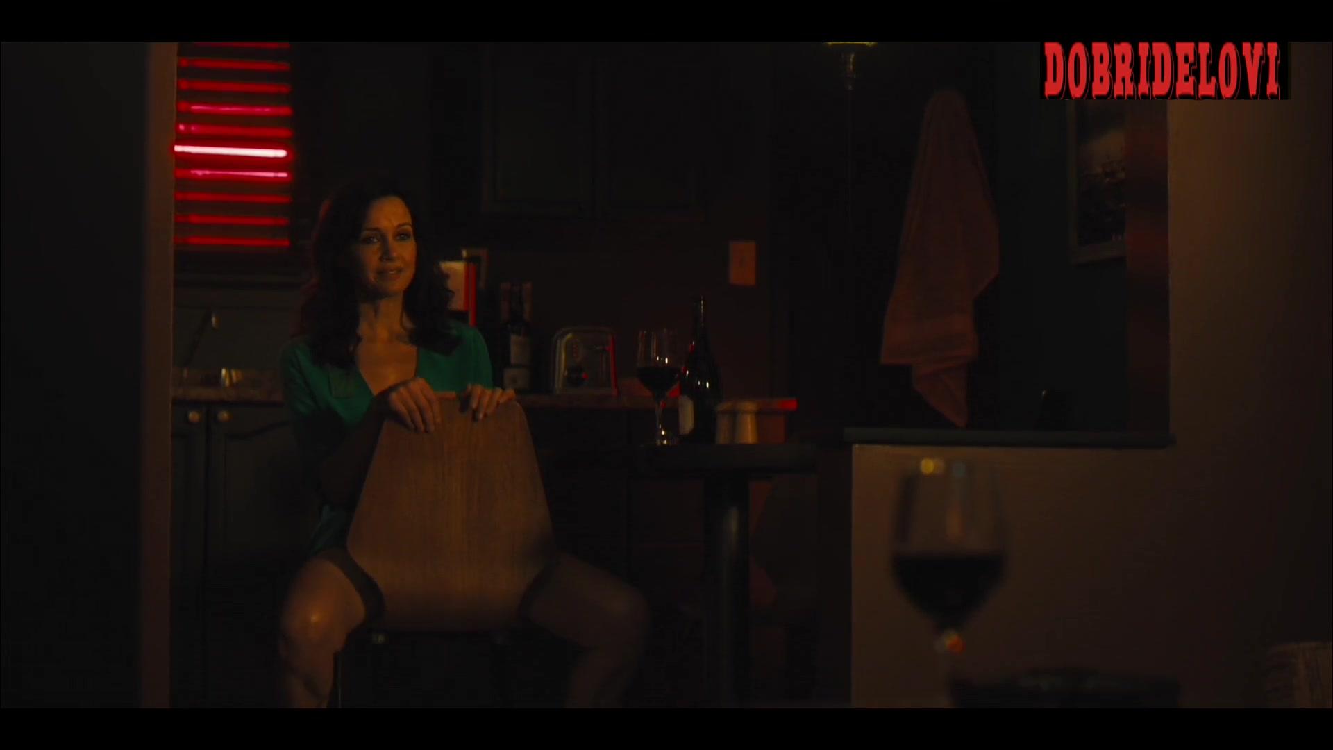 Carla Gugino no pants scene from Jett