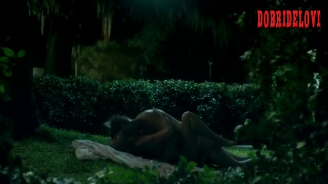 Christina Ricci sex outdoors scene from Z: The Beginning of Everything