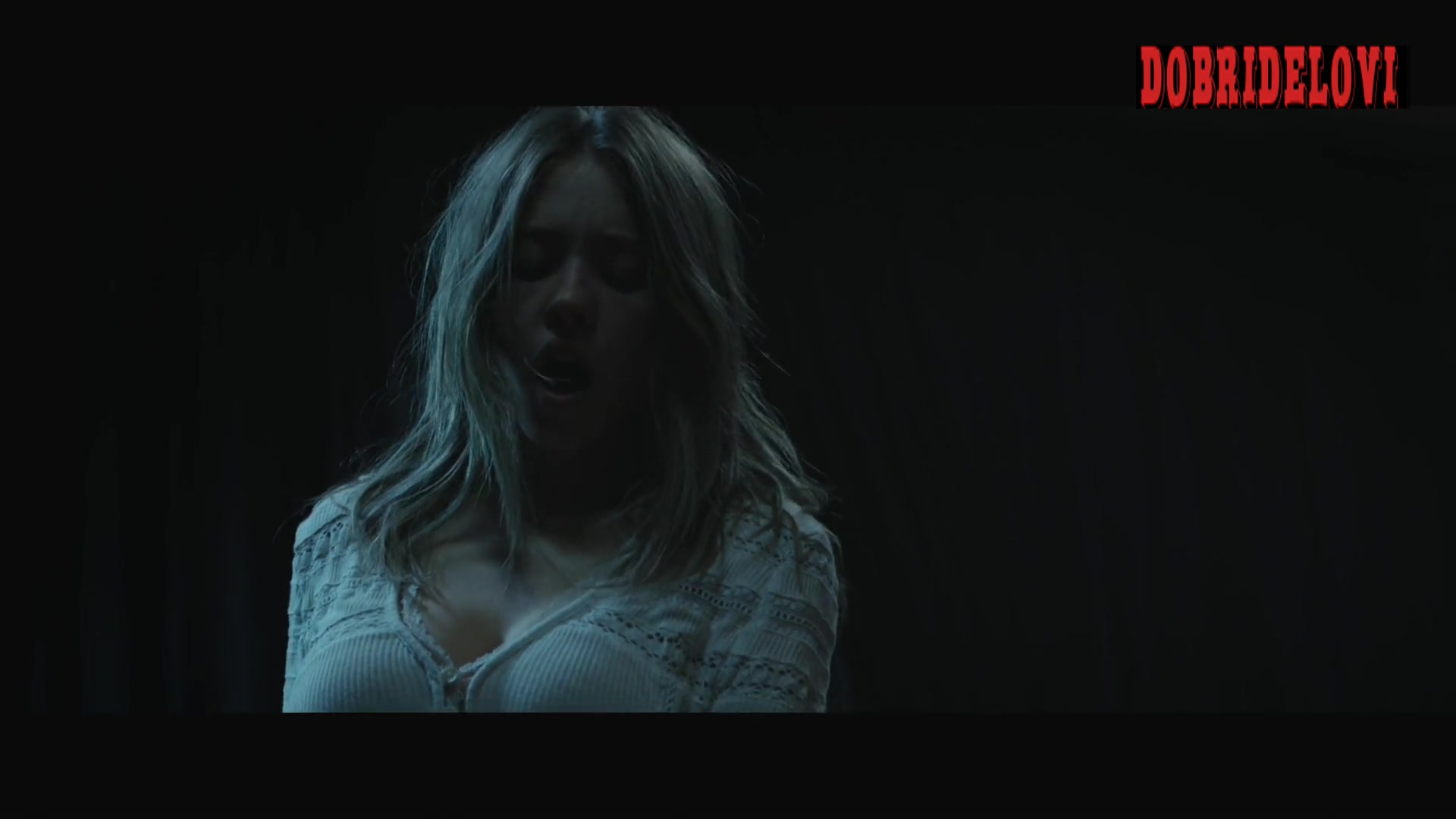 Sydney Sweeney sex on top scene from Nocturne