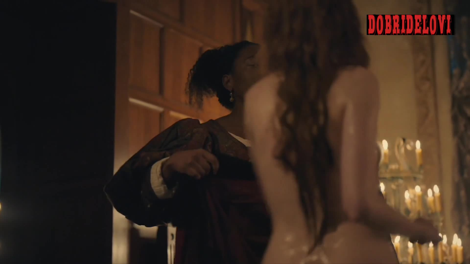 Watch Charlotte Hope tub scene from The Spanish Princess video
